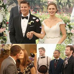 bones and booth wedding - Google Search