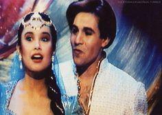 Brad Kane & Lea Salonga (Aladdin & Jasmine's singing voices)