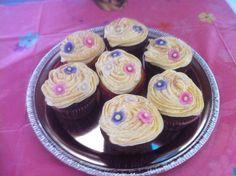 Golden Hair Cupcakes
