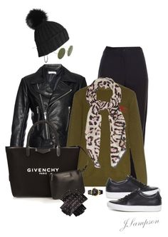 """""""'Chic Casual  #1'"""" by shadedlady ❤ liked on Polyvore featuring Balenciaga, Givenchy, Illesteva, Bling Jewelry, Versace, women's clothing, women, female, woman and misses"""