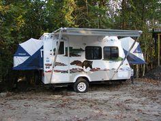 bumper mounted hitch to attach cargo rack pop up camper mods etc pinterest rv camping. Black Bedroom Furniture Sets. Home Design Ideas