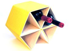 Bastelideen, wie Sie leicht ein Weinregal bauen könnten