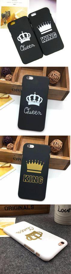 Queen & King iPhone Case