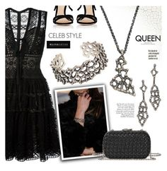 """""""Red Carpet at the Oscars"""" by blingsense ❤ liked on Polyvore featuring Elie Saab, Gianvito Rossi and Corto Moltedo"""