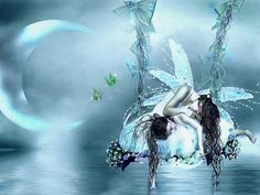 ~ Angel Resting By The Moon ~