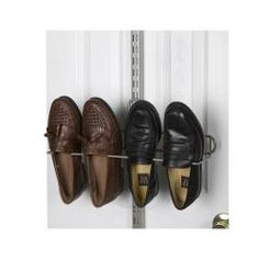 Organized Living freedomRail Nickel Over-the-Door Shoe Rack | Overstock.com Shopping - The Best Deals on Closet Storage