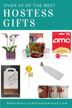 over 45 of the best hostess gifts