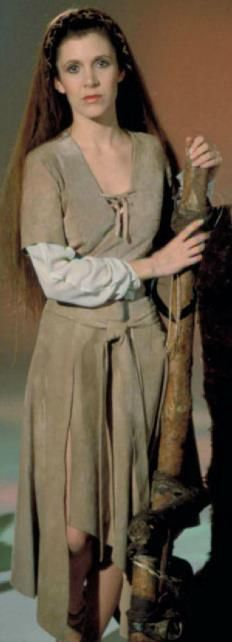 Leia ROTJ promo pic. I wanted hair like this so badly when I was in sixth grade (when this movie came out).