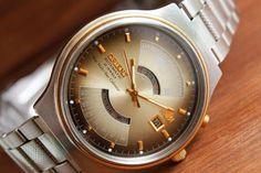 Mens Vintage watch Orient-21jewels, Automatic watch, Japan watch, New Multi-Year calendar, Mens wrist watch, Retro watch, Water proof