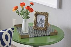 a little of this, a little of that: DIY Lucite Tray from an acrylic shadow box style frame