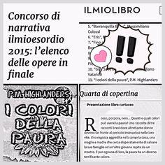 Il percorso continua  continuando a #scrivere✨ http://ilmiolibro.Kataweb.it/libro/gialli-noir/187017/i-colori-della-paura/ … #IlMioEsordio2015 #libri #ebook