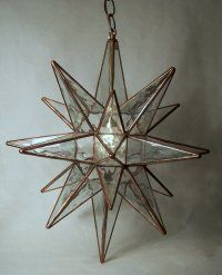 Moravian star - they also sell them at Mermaid Hut which is currently closed, but open again in spring - <3