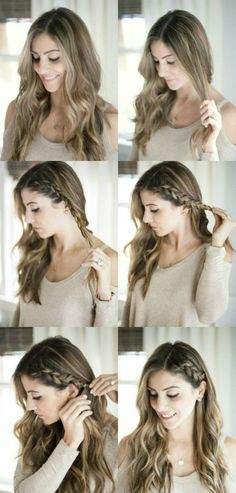 170 Easy Hairstyles Step By Step Diy Hair-styling Can Help You To Stand Apart From The Crowds - Hair Styles - Hair Style Ideas Cute Hairstyles For Medium Hair, Easy Hairstyles For Long Hair, Unique Hairstyles, Wedding Hairstyles, Pretty Hairstyles, Cute Simple Hairstyles, Hairstyles For Teens, Simple Hairstyles For Long Hair, Ladies Hairstyles