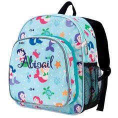 Personalized Mermaids Pack-n-Snack Backpack by Wildkin