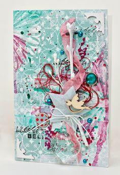patterned paper #LawnFawn brads #EchoPark pearls #FWAB wood embellishment #StudioCalico