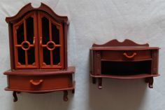 VINTAGE '70'S GERMAN 'JEAN' PLASTIC DOLLS HOUSE FURNITURE | eBay