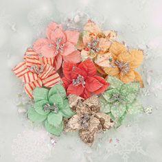 Sweet Peppermint Flowers - Holiday Carols
