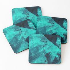 'Blue Please' Coasters by Beer-Bones Coaster Set, Bones, My Arts, Art Prints, Printed, Awesome, Products, Art Impressions, Prints