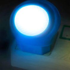 LED night light sensor baby room led energy saving lamp AC 110V-220V 0.7W EU Plug Night lamp night lights led sensor lamp #Affiliate