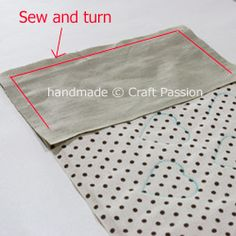 Notebook Cover Tutorial & Pattern