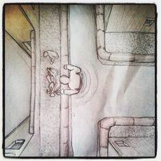 il sabato mattina cerco di disegnare i miei sogni
