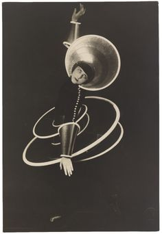 "Karl Grill, Untitled (Daisy Spies as the Spiral in Oskar Schlemmer's ""Triadic Ballet""), 1926"