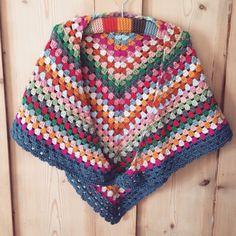 Crochet Granny shawl