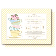 RESERVED FOR KRISTY  Bridal Tea Shower by DelightPaperie on Etsy, $84.00