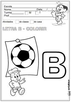 ATIVIDADES DE EDUCAÇÃO INFANTIL  E MUSICALIZAÇÃO INFANTIL: ATIVIDADES COM A LETRA B