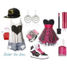 swag outfits for girls | Girl swag with From claires - Earrings | on Fashionfreax you can ...