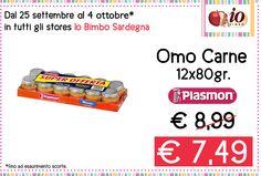 Dal 25 settembre al 4 ottobre 2014 offerta valida in tutti gli stores #iobimbosardegna