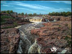 The Falls, Sioux Falls, South Dakota www.gregandlarae.com Sioux, South Dakota, Fall Wedding, Water, Photography, Travel, Outdoor, Blush Fall Wedding, Gripe Water