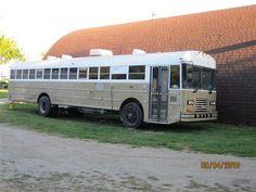 1992 Ward School bus Converted