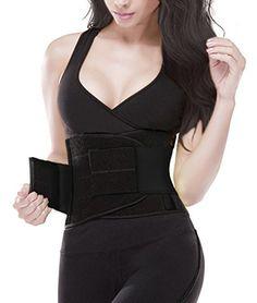 8e7aaf52a33 YIANNA Women Waist Trainer Tummy BeltBody Shaper Belt for Hourglass Shaper  Weight Loss waist trimmer belt