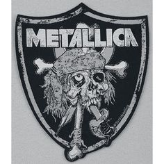 Raiders Skull - Patch by Metallica