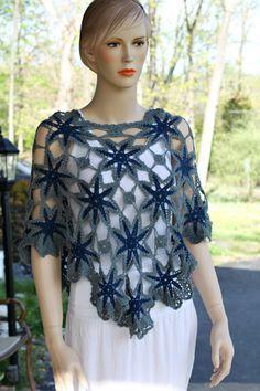 The Blues Crochet Shawl
