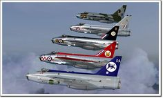 The English Electric Lightning is a supersonic fighter aircraft of the Cold War era. The Lightning was the only all-British Mach 2 fighter aircraft. The Lightning was used by the Royal Air Force (RAF) and the Royal Saudi Air Force (RSAF). Lightning Aircraft, Air Force Aircraft, Navy Aircraft, Aircraft Pictures, Fighter Aircraft, Fighter Jets, F35 Lightning, Military Jets, Military Aircraft