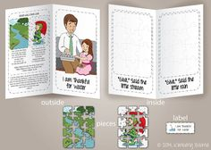 Lds Coloring Pages Pdf : I am thankful for trees plants and flowers file folder game and