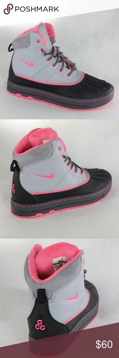 RARE Nike ACG Woodside GG Pink Duck Sneaker Boots Super clean and rare 2011 Nike  ACG edbd4e358