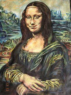 Leonardo da Vinci's 'Mona Lisa' (La Gioconda) (La Joconde).....(EXPLORE#405) [davidezartz on FLICKR] (Gioconda / Mona Lisa)
