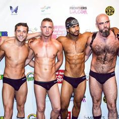 Obviously - The #speedobear on the far right.