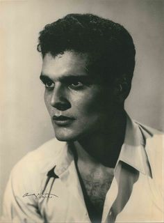 Portrait of Omar Shariff, 1950s