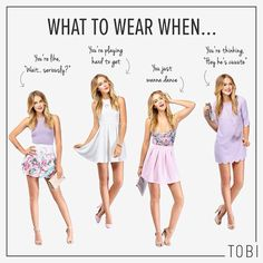 What to wear when... it's a girls night out! haha random comments but makes me look forward to the weekend already!