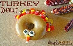 Thanksgiving Turkey Doughnut!
