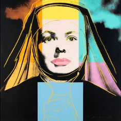 Andy Warhol | Ingrid Bergman - The Nun, II.314 (1983) | Available for Sale | Artsy