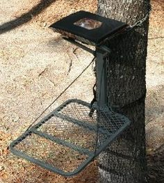 Deer Hunting Tree Stand Seat!