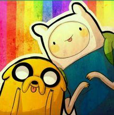 Rainbow Fin and Jake