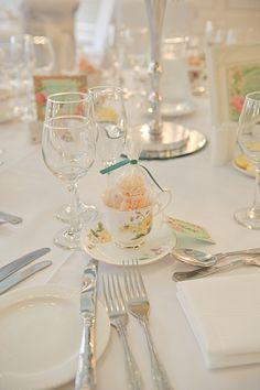 Pretty place setting- bridesmaid luncheon