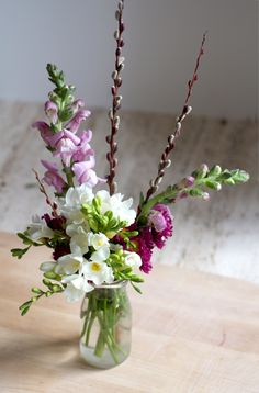 Valentine's Day Flowers DIY from The Flower Recipe Book // The City Sage