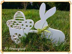 Le Grono Post: Chantournage : lapin de Pâques